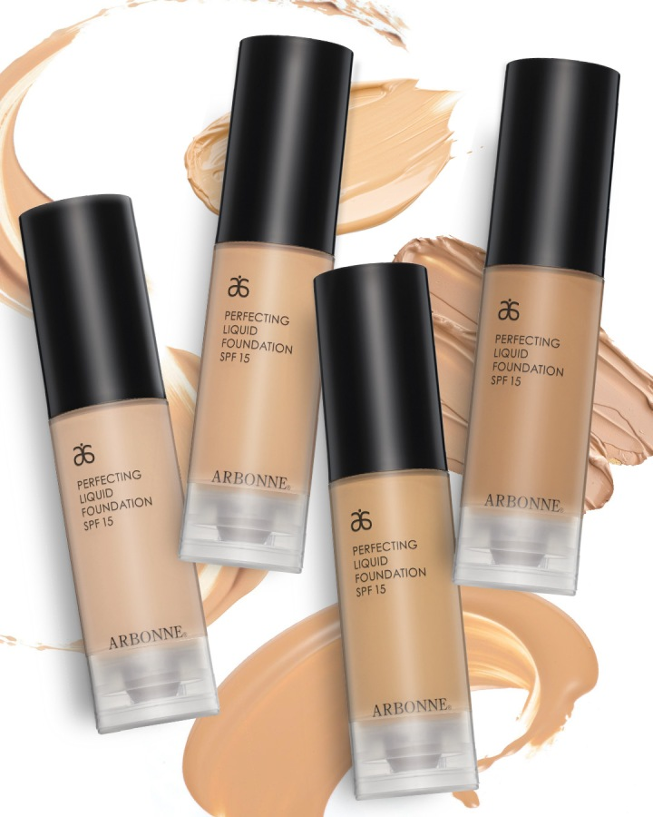 Perfecting Liquid Foundation with SPF 15 social_image